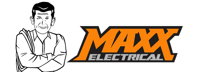 Maxx Electrical. Logo of Maxx Electrical. A Newcastle Electrician. Servicing Newcastle, Lake Macquarie, the Hunter and Port Stephens.