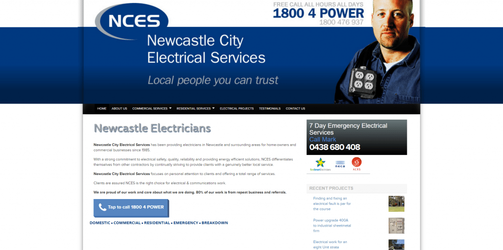 Newcastle City Electrical Services Home Page - Now MaxxElectrical.com.au