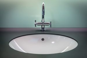 Underbench basin with gooseneck style tap | Maxx Electrical Newcastle
